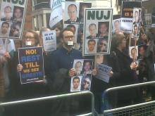 NUJ_protest_London_190214