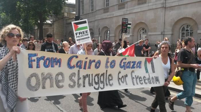 cairo to gaza solidarity london 19 July