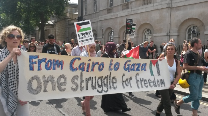 cairo to gaza solidarity london 19 July