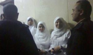 Hind and Rasha Mounir. Picture via al mesryoon news website