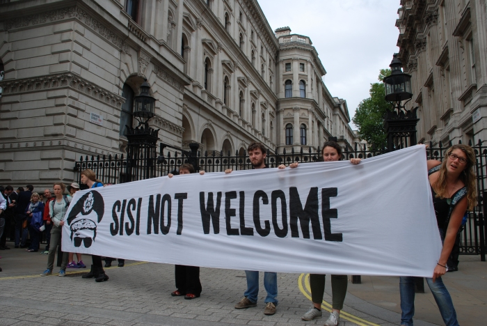 Sisi not welcome campaign launch