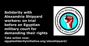 Join the Thunderclap and show your support online here: https://www.thunderclap.it/projects/46556-free-the-alex-shipyard-workers